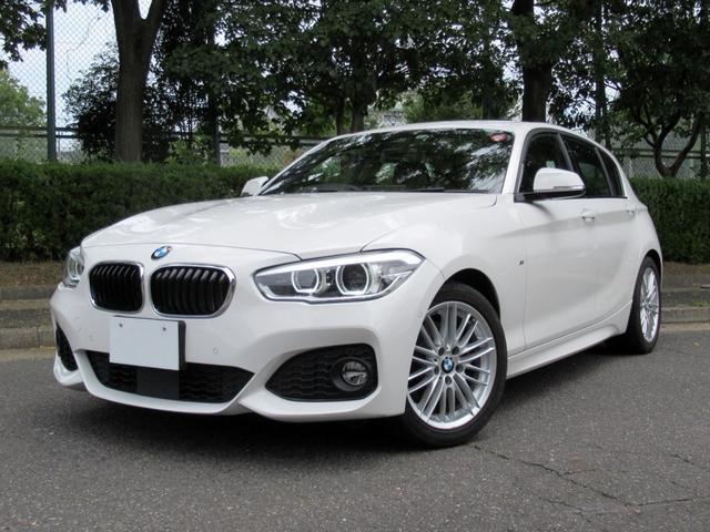 BMW 118i Mスポーツ 1オーナー 禁煙車 コンフォートパケージ ACCアクティブクルーズコントロール アドバンスドパーキングサポートパッケージ シートヒーター タッチパネルHDDナビ Bカメラ 前後PDC