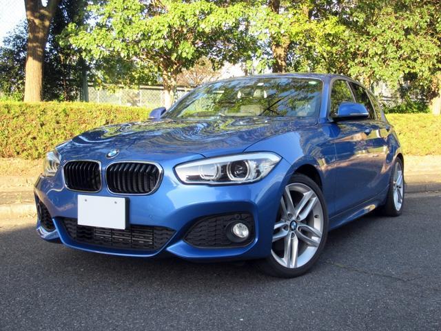BMW 118i Mスポーツ ワンオーナー コンフォートPKG アドバンスドパーキングサポートPKG OP18AW インテリジェントセーフティ HDDナビ Bカメラ 前後パークセンサー 自動駐車支援 Bluetooth 禁煙車