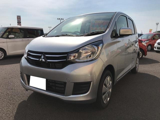 三菱 E 軽自動車 整備付 CVT 保証付 AC 届出済未使用車