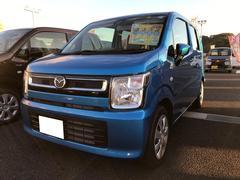 フレアハイブリッドXG 軽自動車 ブルー 整備付 CVT 保証付