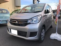 eKワゴンE 軽自動車 シルバー 整備付 CVT 保証付 AC