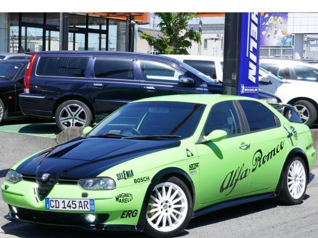 アルファロメオ 2.5 V6 24V タイベル済 フルセグナビTV ブレンボ