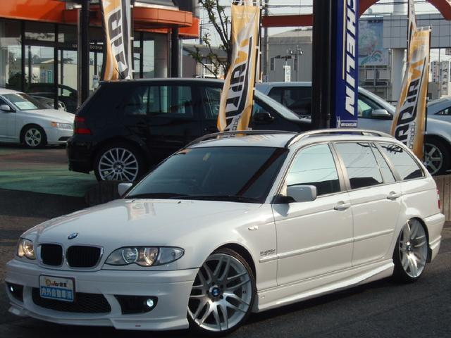 BMW 318iツーリング ENERGYエアロマフラー19AW