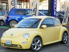 VW ニュービートル革 フルセグナビTV 18AW 新品天張貼替済