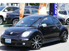 VW ニュービートルLZ 革 SR リヤソナー キセノン メッキパーツ
