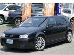 VW ゴルフR32  新品天張り貼替 純正18AW フルセグナビTV