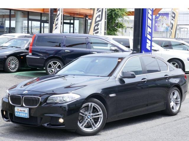BMW 528i Mスポバンパー18AW フルセグナビ スマートキー