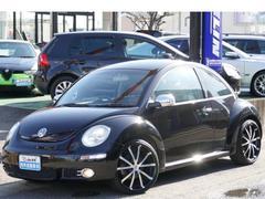 VW ニュービートルベースグレード 新品天張貼替済 社外19AW メッキ装飾
