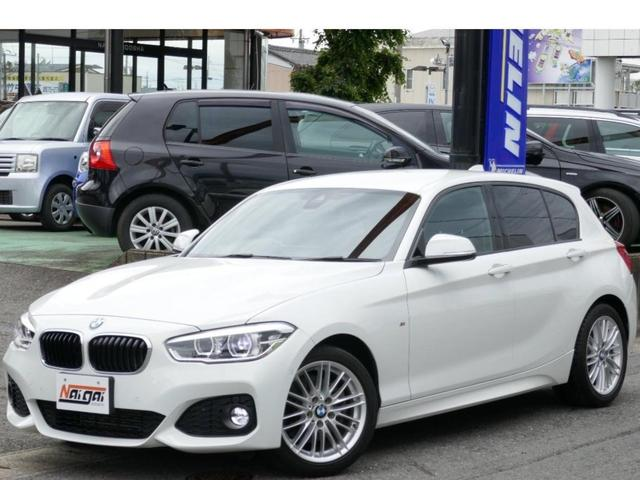BMW 1シリーズ 118d Mスポーツ HDDナビ・Bカメラ・ブルートゥース・ETC・禁煙車・LEDヘッドライト・車線逸脱警告・衝突軽減ブレーキ・純正17AW・前後ソナー・LEDフォグ・LEDナンバー・リヤフィルム・アイドリングストップ