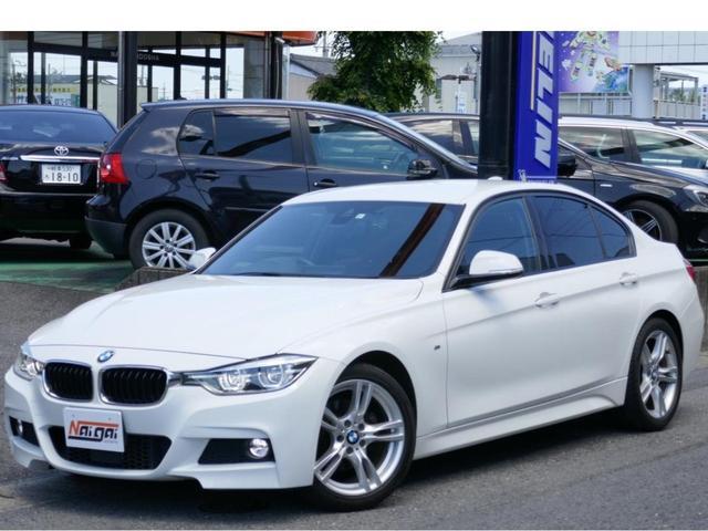 BMW 3シリーズ 320d Mスポーツ 後期LCIモデル・ACC・コンフォートアクセス・LEDヘッドライト・LEDテール・純正18AW・リヤソナー・純正HDDナビ・Bカメラ・ブルートゥース・コムテック製前後ドラレコ・禁煙車・リヤフィルム