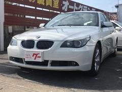 BMW525i 純正ナビ バックカメラ 本革シート ETC