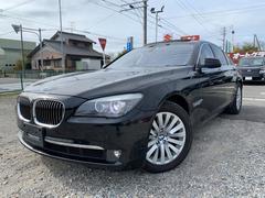BMW750iコンフォートPKG ナビTV 黒革 SR HID