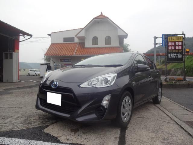 「トヨタ」「アクア」「コンパクトカー」「岐阜県」の中古車