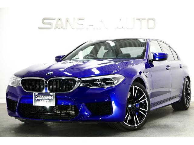BMW M5 コンフォートPKG 全方向カメラ シルバーストーン革
