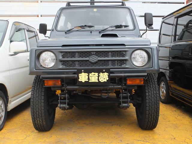 スズキ HC 4WD 2人乗り 緩衝装置改造自動車 5速MT