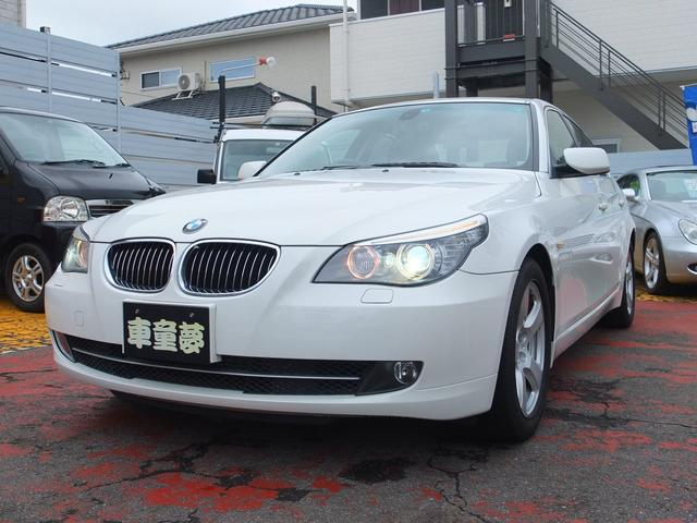 BMW 5シリーズ 525i サンルーフ ブラックレザーシート シートヒーター 禁煙車