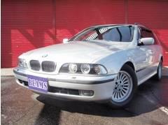 BMW528iツーリング キセノン ブラックレザー サンルーフ