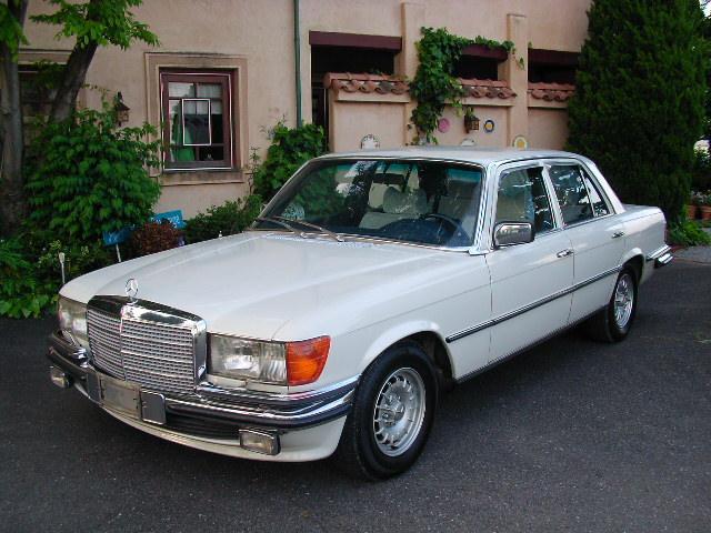 メルセデス・ベンツ 280S  280SE  ガレージ保管 日常乗りできます