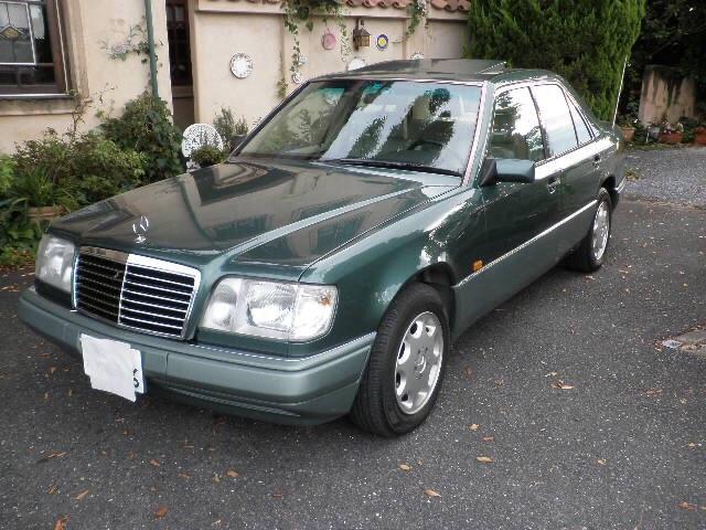E280 リミテッド サンルーフ ベージュ革シート CD   ETC 外装レストア済  ガレージ保管  禁煙  ブロンズモールクスミ無し 1速発進レスポンス有