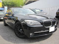 BMW740I 黒革 MR 純正HDDナビ 地デジ 右H 19AW