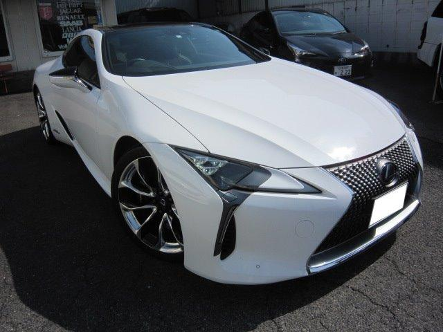 LC500h Sパッケージ 黒革 純正ナビTV OP21AW