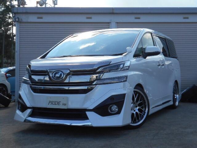 トヨタ ヴェルファイア 2.5X 新品フルエアロ 新品20AW 新品車高調