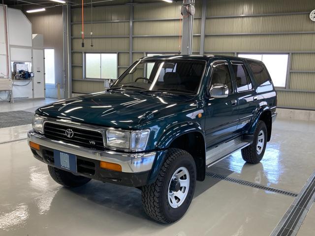 トヨタ ハイラックスサーフ SSR-V ワイド サンルーフ 4WD リフトアップ パワーウィンドウ ETC