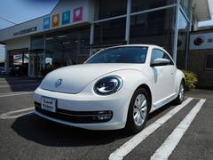 VW ザ・ビートルデザイン 純正HIDライト 純正ナビ Bカメラ