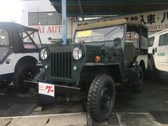 ジープ4WD ガソリン車