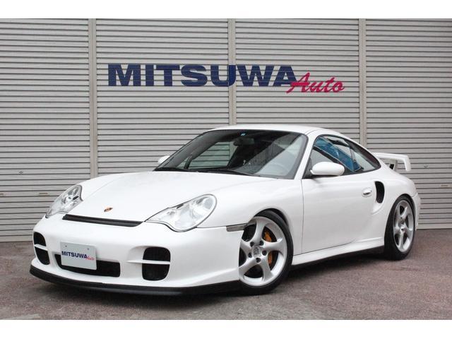 ポルシェ 911 911GT2 新並・クラブスポーツPKG・PCCB・CPUチューニング540ps・ロールゲージ・RECAROカラークレストフルバケットシート・SCHROTHレーシング6点式ベルト・クァンタム車高調・純正18AW