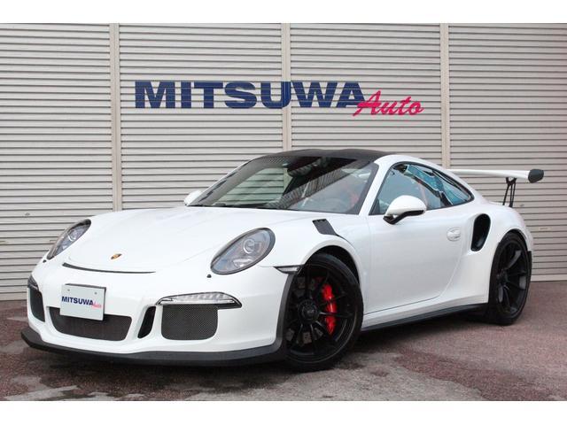 ポルシェ 911 911GT3RS D車・クラブスポーツPKG・スポーツクロノPKG・ブラックレザーインテリア・カーボンインテリア・ラバオレンジロールゲージ・フロントリフト・サテンブラックAW・クリアガラステールレンズ・ピットスピード