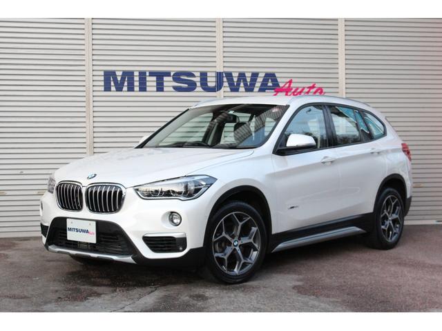 BMW sDrive 18i xライン コンフォートアクセス・パークディスタンスコントロール・アクティブクルーズコントロール・Pアシスト・HUD・パワーゲート・黒ハーフレザー・シートH・純正18AW・2018yスタッドレス・Bカメラ・ETC