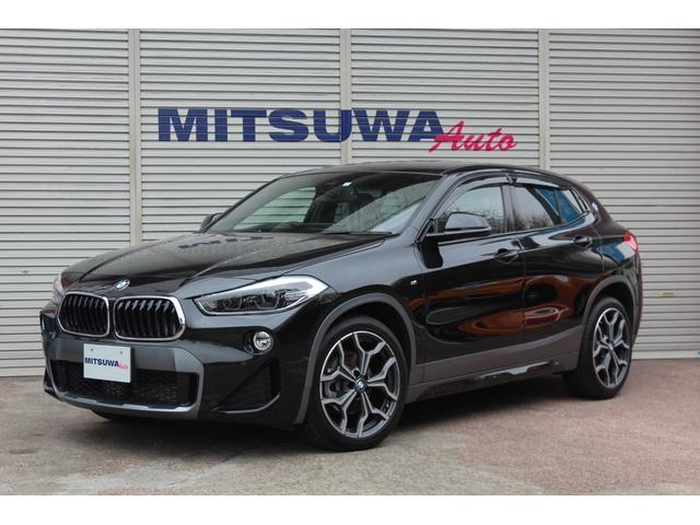 BMW sDrive 18i MスポーツX 8速AT・コンフォートPKG・パーキングサポートPKG・アダプティブクルーズ・Mスポーツシート&19AW・シートヒーター・LEDヘッド・純正ナビBカメラ・サイドバイザー・Aストップ
