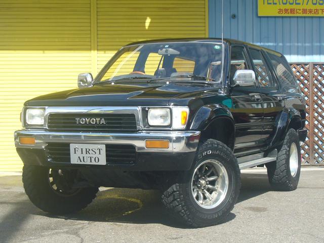 トヨタ 2.0SSRリミテッド4WD ブラックED ナローボディ