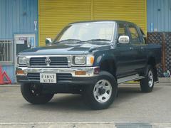 ハイラックスピックアップダブルキャブ SSR−X 4WD 4ナンバー NoxPm適合