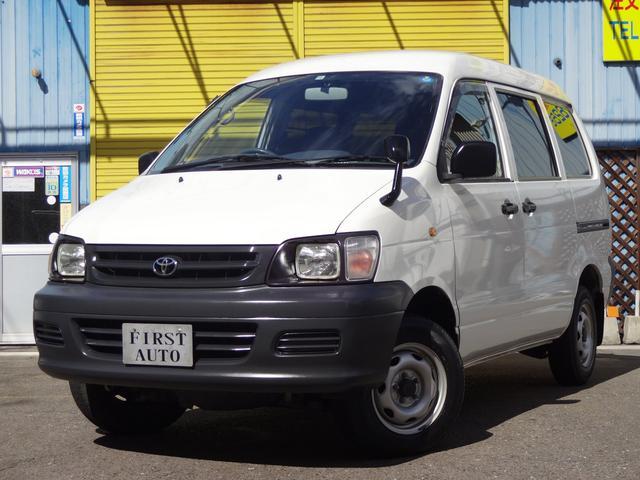 トヨタ 5ドア 1.8DX 4WD 6人乗り スタッドレスタイヤ付き