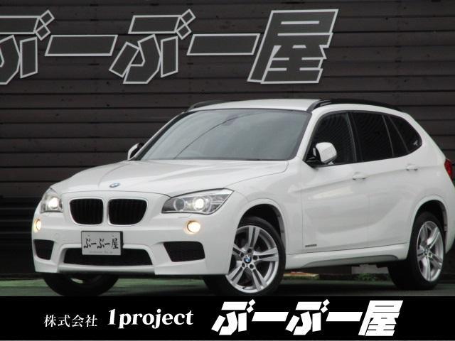 BMW X1 sDrive20iMスポ1オナエアロ18AWHIDナビ保証付