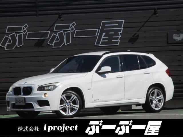 BMW sDrive 18i Mスポーツパッケージ D車 Mスポーツエアロ Mスポーツ18アルミ リアスポ HID フォグ 専用内装 HDDナビ ミラー一体型ETC リアスモーク スマートキープッシュスタート ルーフレール ステリモ リアフォグ 保証付