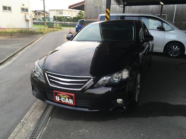 トヨタ 350S サンルーフ ブラックレザー 純正ナビTV
