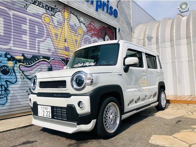 スズキ ハイブリッドX OEP仕様 コンプリートカー セーフティーS (ホワイト)