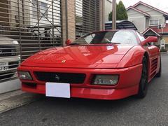 フェラーリ 348ts 5速MT レザーシート 社外ブレーキローター ETC