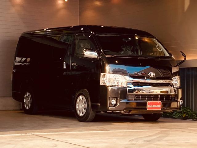 トヨタ GL ファインテックツアラー 10人乗り アルパインナビTV バックカメラ リアフリップダウンモニター 左側パワースライドドア ETC