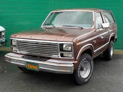 フォード ブロンコ4WD XLT オールペイント 1ナンバー登録OK