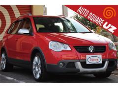 VW ポロクロスポロ ワンオーナー禁煙車 HDDナビ ETC キーレス