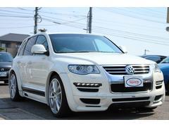 VW トゥアレグV6 カスタム 車高調 22AW HDDナビ 地デジBモニタ