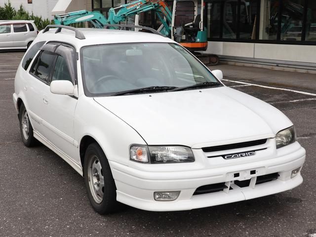 「トヨタ」「スプリンターカリブ」「ステーションワゴン」「岐阜県」の中古車