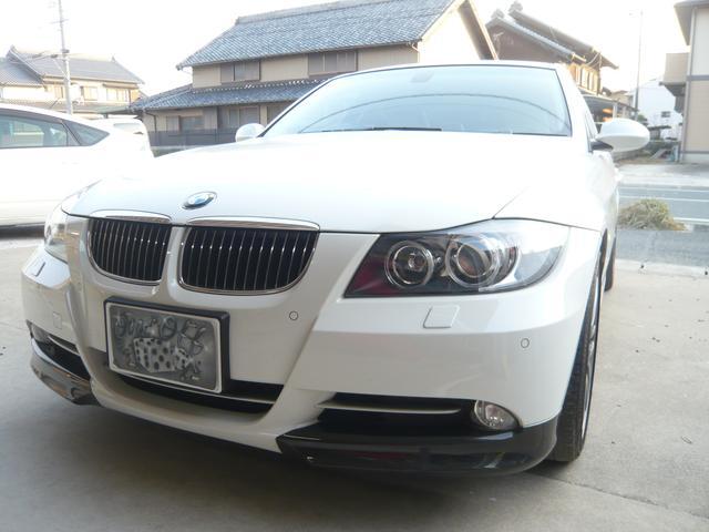 BMW 335i HDDナビ 盗難防止システム 革シート