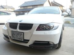 BMW335i HDDナビ 盗難防止システム 革シート