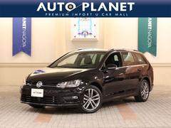 VW ゴルフヴァリアントRラインBMT ACC HDDナビTV スマートキー
