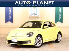 VW ザ・ビートルデザインレザーパッケージ 革シート ナビTV バックカメラ